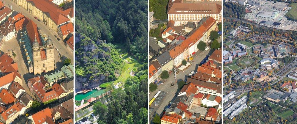 Luftbild Aufnahmen Bayreuth Foto