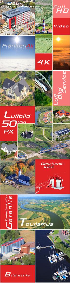 Luftbilder Foto und Film Aufnahmen erstellung