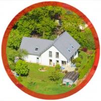 Luftaufnahme vom Eigenen Haus